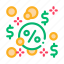 interest-free, loan, loans, payday icon