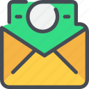 business, email, letter, mail, nessage, payment icon