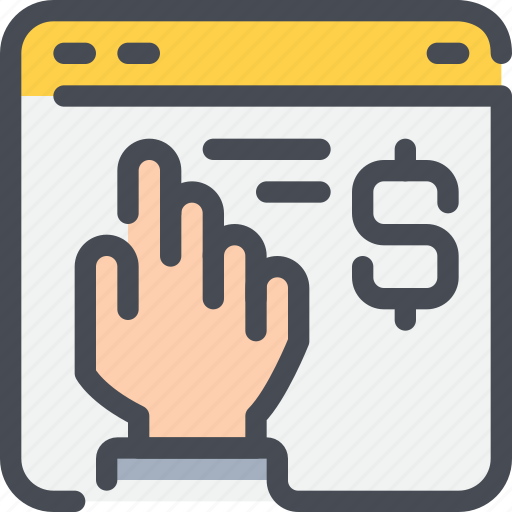 bank, browser, business, money, online, payment, shopping icon