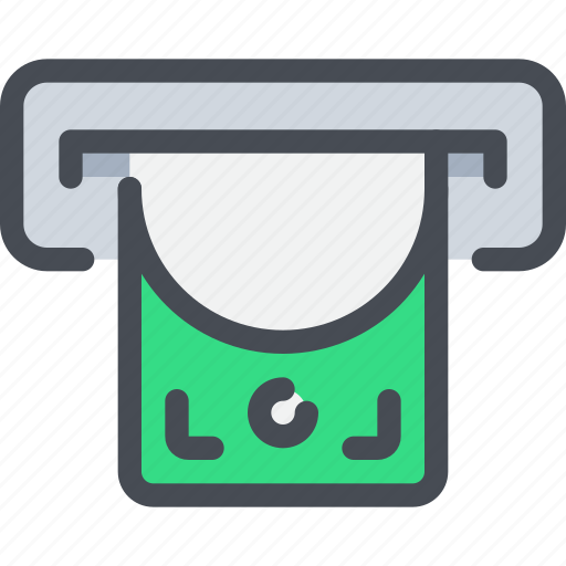 atm, bank, business, money, payment, shopping icon