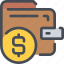 bank, business, coin, money, payment, wallet icon