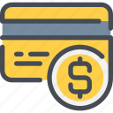 business, card, credit, money, payment, shopping icon