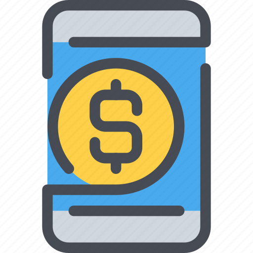 Banking, business, mobile, money, payment, smartphone icon - Download on Iconfinder