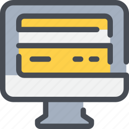 business, card, computer, credit, payment icon