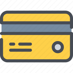 bank, business, card, credit, payment, shopping icon