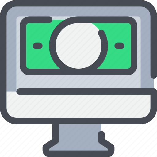 Banking, business, computer, money, payment icon - Download on Iconfinder