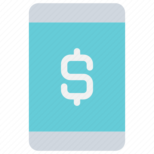 banking, mobile, money, payment, smartphone icon