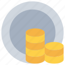 bank, banking, business, coin, money, payment icon