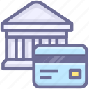 account, bank, bank card icon
