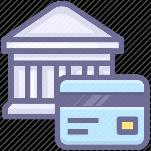 account, bank, bank card icon