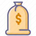deposit, money icon