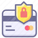 credit card, payment, security icon