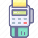invoice, payment, receipt, sale icon