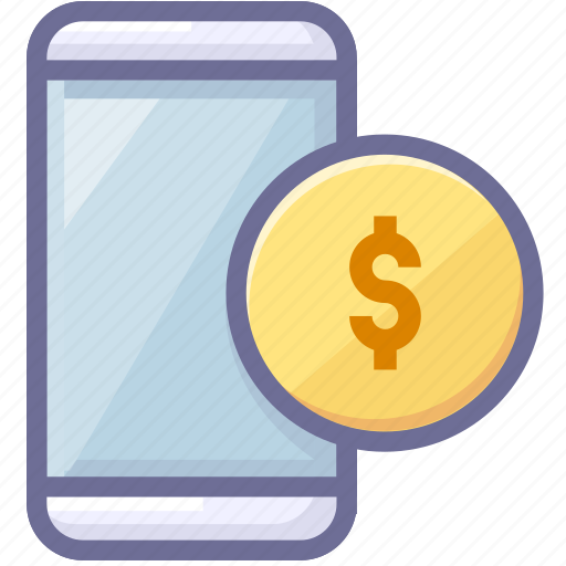 app, mobile, money icon