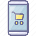 app, cart, shopping, store icon
