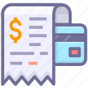 bill, invoice, receipt icon