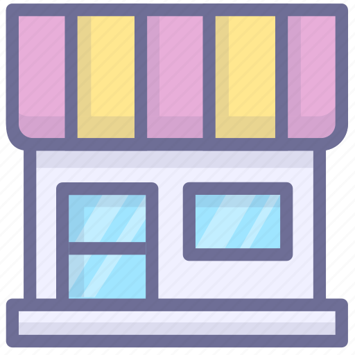 market, shop, store icon