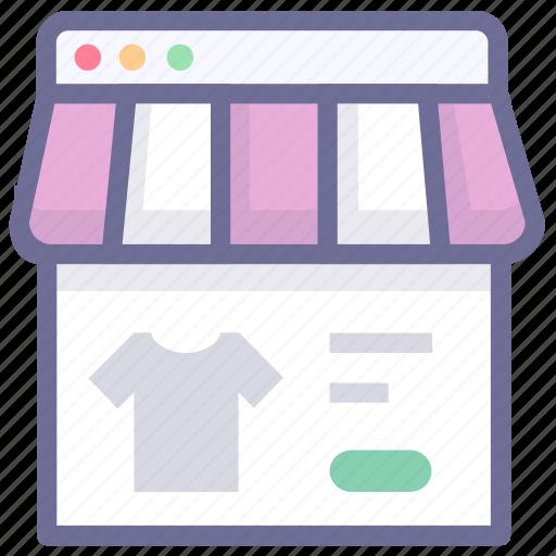browser, shop, shopping icon