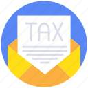 banking, business, currency, finance, payment, tax icon