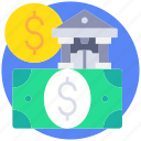 banking, business, currency, finance, payment icon