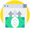 business, currency, ecommerce, online, payment icon