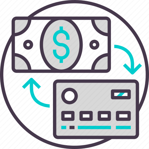 business, card, cash, credit, currency, payment icon