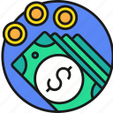 banking, business, cash, currency, money, payment icon