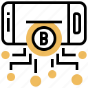 bitcoin, blockchain, digital, online, smartphone