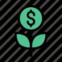 growth, investment, money, dollar, finance