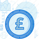 british, cash, coin, currency, finance, payment, pound icon