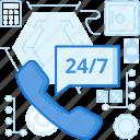 availability, calculator, call, customer, phone, safe, service icon