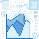 analytics, chart, document, graph, page, paper, statistics