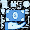 cash, dollar, finance, gesture, hand, money, payment