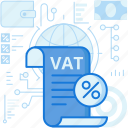 document, page, paper, percentage, tax, taxes, vat