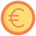 business, currency, economy, euro coin, finance, money, payment