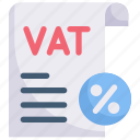 business, document, economy, finance, payment, taxes, vat