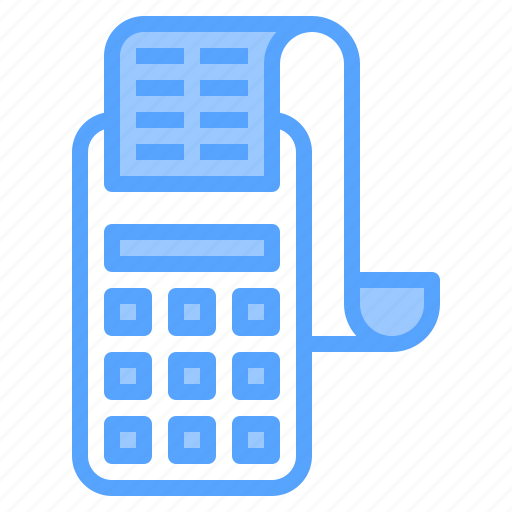 banking, bill, cashier, credit, machine, payment, technology icon