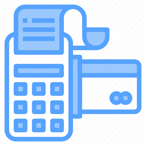 banking, cashier, credit, customer, machine, payment, technology icon