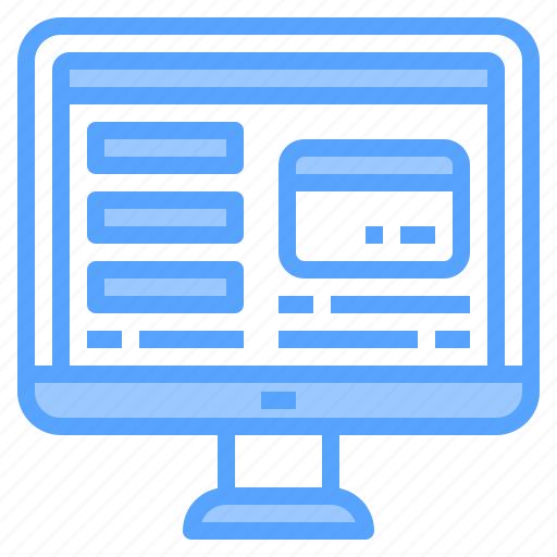 banking, cashier, machine, online, payment, shopping, technology icon