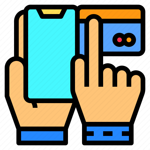 banking, cashier, credit, machine, online, payment, technology icon