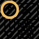 billing, error, statement, problem, failure icon