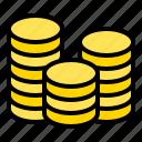 asset, coin, credit, money, payment