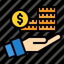 cash, financial, money, payment, profit, transfer icon