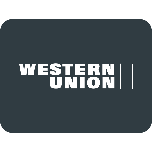 credit, money, pay, payments, send, union, western icon