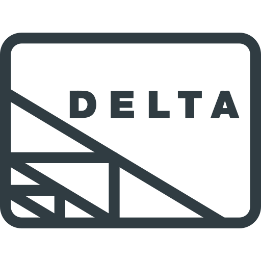 credit, delta, money, online, pay, payments, send icon