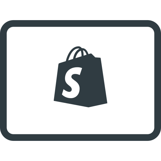 credit, ecommerce, money, online, pay, payments, shopify icon