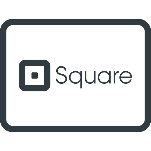 credit, money, online, pay, payments, send, square icon