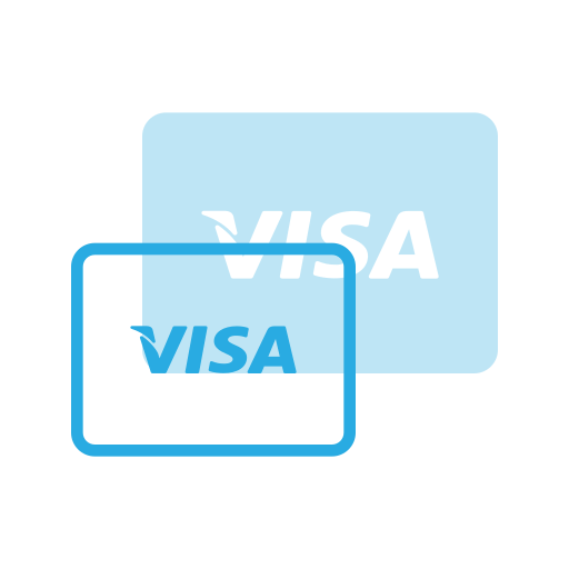 Card, credit, electron, pay, payments, send, visa icon - Free download