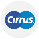 cirrus, finance, logo, method, payment icon