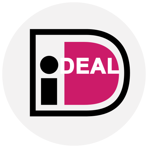 finance, ideal, logo, method, payment icon